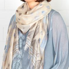 Fable Silk Cotton Jacquard Weave Scarf (various colours)