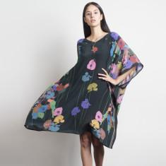 Poppy Silk Kaftan
