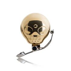 Suck UK skull bike bell