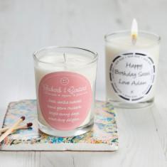 Retro Sweet Scent Rhubarb & Custard Candle
