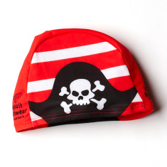 Boys' pirate swim cap