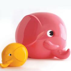 Pink Norsu elephant money box