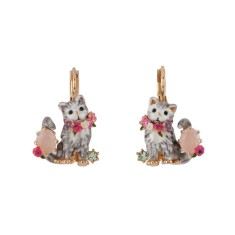 Maine Coon kitty Earrings