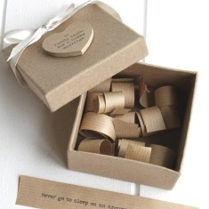 Personalised 10 Hints For A Happy Marriage Box
