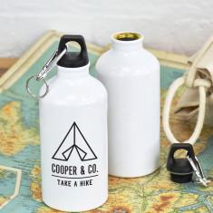 Take A Hike Personalised Adventure Water Bottle