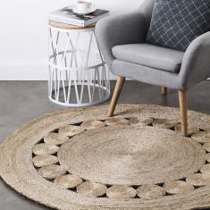 Braided Jute Decorative Round Rug