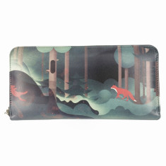 Forest artist purse wallet