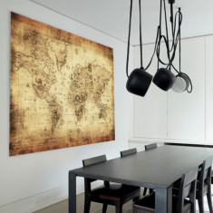 Columbus World Map | Canvas Art