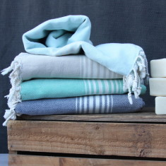 Hand-loomed Istanbul Turkish towel (various colours)