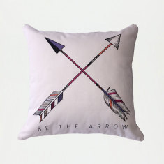 Be the arrow cross cushion