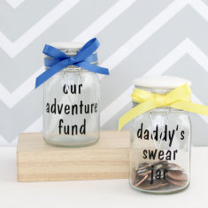 Personalised Savings Jar