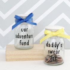 Personalised Savings Jar