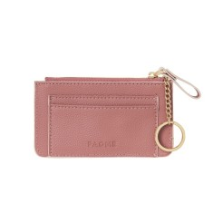 Fine leather travel pouch in warm