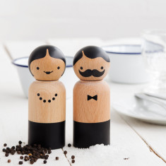 Suck UK mr & mrs salt & pepper grinders