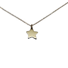 Little star 9K gold necklace