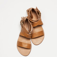Prato sandal in tan