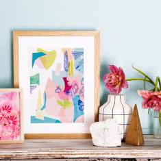 Garden archival art print