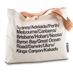 Australia Highlights Wine Tote Bag