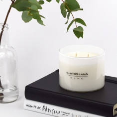 Luxury soy candle (various fragrances 75hr burn)