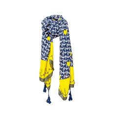 Tassel scarf anchor hearts