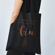 Looks Like Gin Christmas Tote Bag