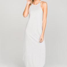 Ava Maxi Dress in Grey