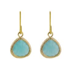 Calm sea earrings