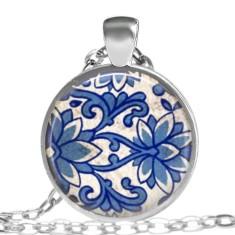 China blue pendant