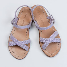 Santorini girls' lilac sandals