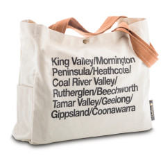 Australia Wine Regions Wine Tote Bag