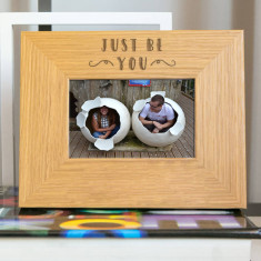 Just Be You Inspirational Quote Photo Frame