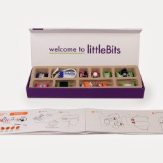 Littlebits synth electronics kit for kids