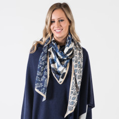 The blues scarf