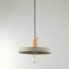 Urban Design Concrete Timber Pendant light