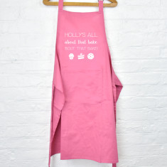 Personalised all about that bake apron