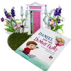 Daniel and the Dummy Fairy Package including Book and Opening Fairy Door