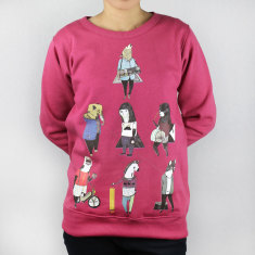 Hipster animals artist jumper