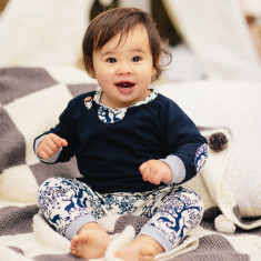 Woodland organic cotton play pant