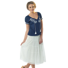 Gilda skirt in white