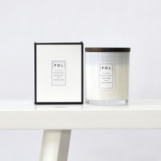 Brown sugar & fig large scented soy candle