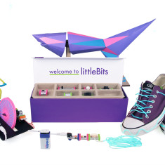Littlebits deluxe electronics kit for kids