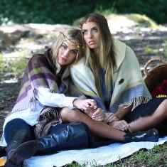 Tiffany blanket poncho