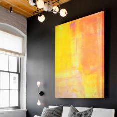 Rise & shine   canvas Art