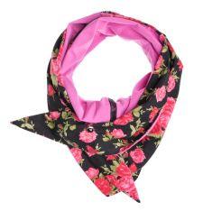 Studs 'n' roses scarf