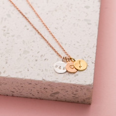Personalised Loved Mini Disc Necklace