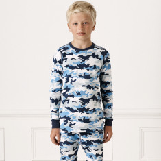 Hickory Hill Camo Print Winter Pyjamas
