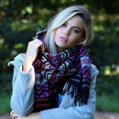 Kelly Aztec wrap