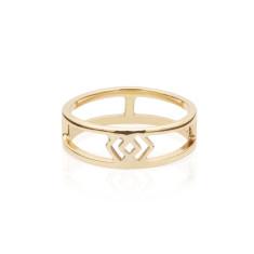 Adinkra Justice Ring
