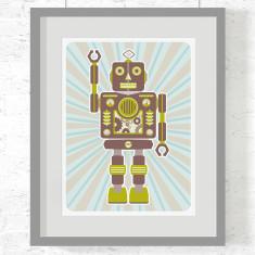 Robot Stanley art print
