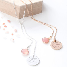 Personalised Y Necklace